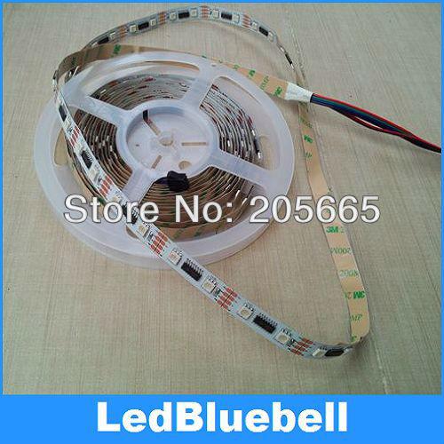 10M 2x5M 5050 RGB Dream Color change LPD8806 LED Digital Strip light Non-Waterproof DC5V Input  [LedBluebell]<br><br>Aliexpress