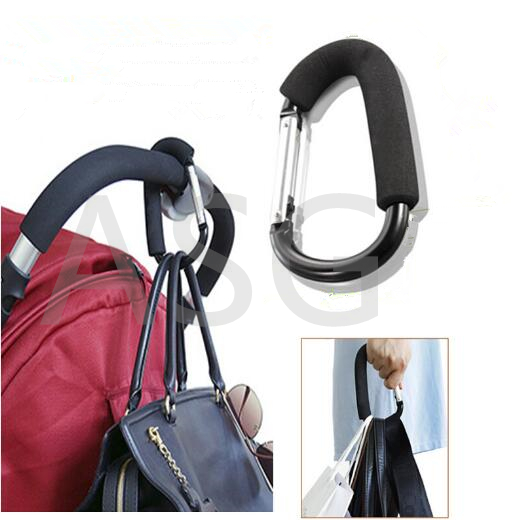 Baby Comfort Stroller Accessories Baby Carriage Hook Pram Pushchair Hanger Hanging carrinho de bebe products 1PC Wholesale(China (Mainland))