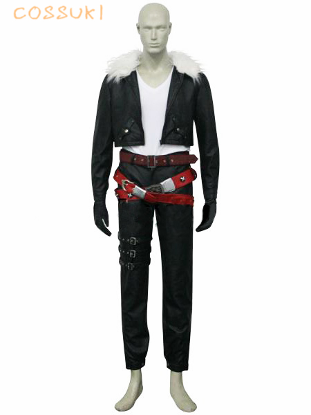 Final Fantasy VIII 8 Squall Uniform Cosplay Costume ,Perfect Custom for You !