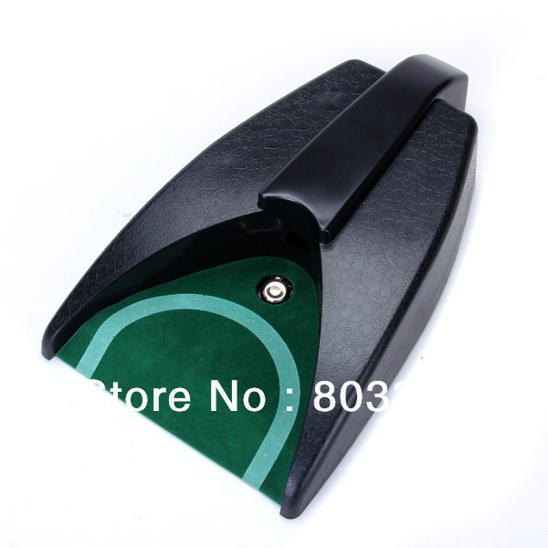 Free Shipping Battery Operated Auto Return Putting Mat Golf Practice Cup(China (Mainland))