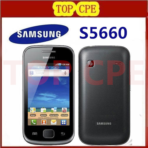 S5660 Original phone Samsung S5660 wifi GPS 3.15MP camera Unlocked Cheap cell phone refurbished Free Shipping(China (Mainland))