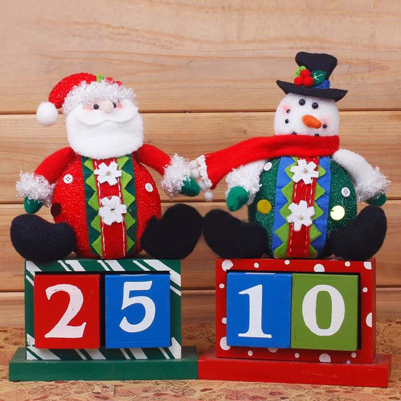 Santa Snowman Gift decorative boxes Christmas Decor Home Ornament / diameter Home Decoration