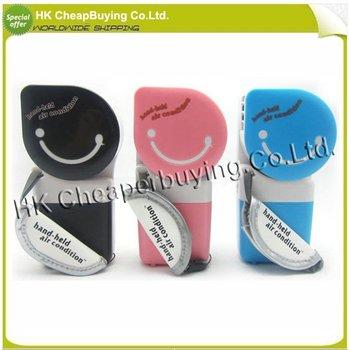 Hotsale USB Mini Portable Hand Held Air Conditioner Cooler Fan,freeshipping,dropshipping #SKU0137