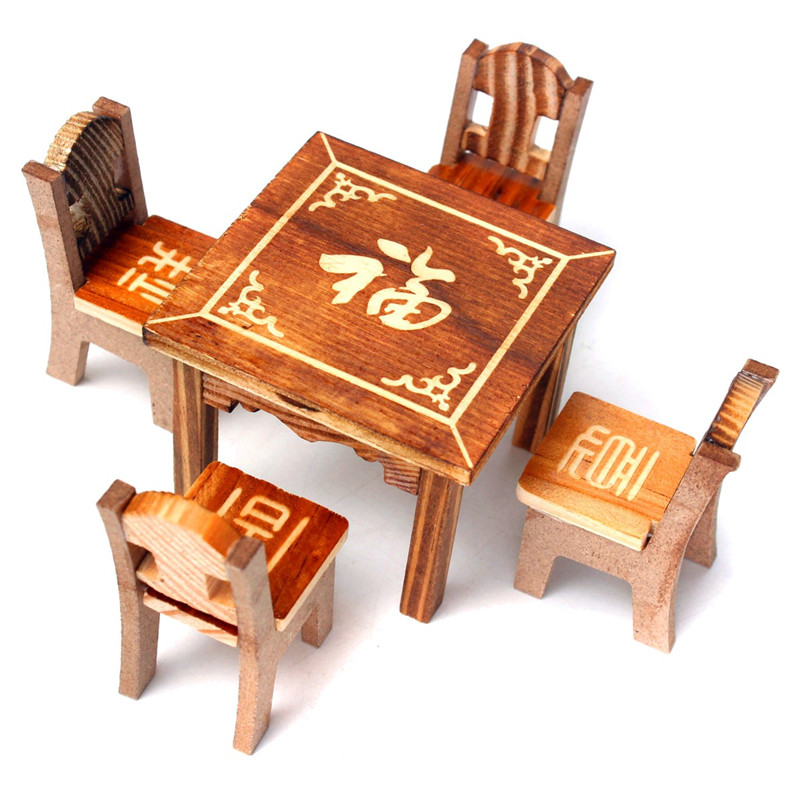 Wooden Craft Furniture ~ Popular modern dollhouse furniture sets buy cheap