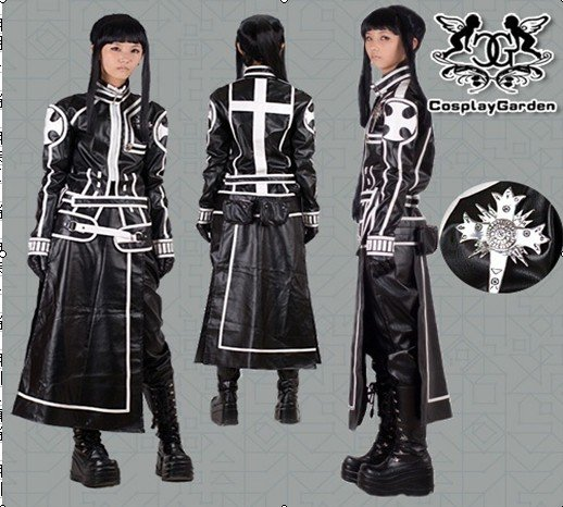 Free Shipping Cosplay Costume D.Gray Man Lavi  Lee kanda II New in Stock Retail / Wholesale Halloween Christmas Party UniformОдежда и ак�е��уары<br><br><br>Aliexpress