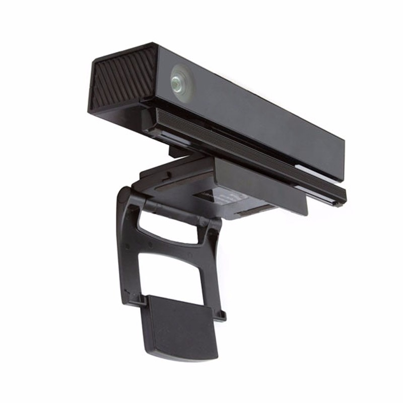 Compare prices on kinect xbox sensor online shoppingbuy low high quality 119 x 97 x 23 mm black universal tv mount camera clip stand kinect sciox Gallery