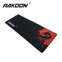 Buy Rakoon Red Dragon Large Gaming Mouse Pad 30*80CM Lock Edge Mousepad Speed/Control Version Mouse Mat Dota 2 CS GO for $9.17 in AliExpress store