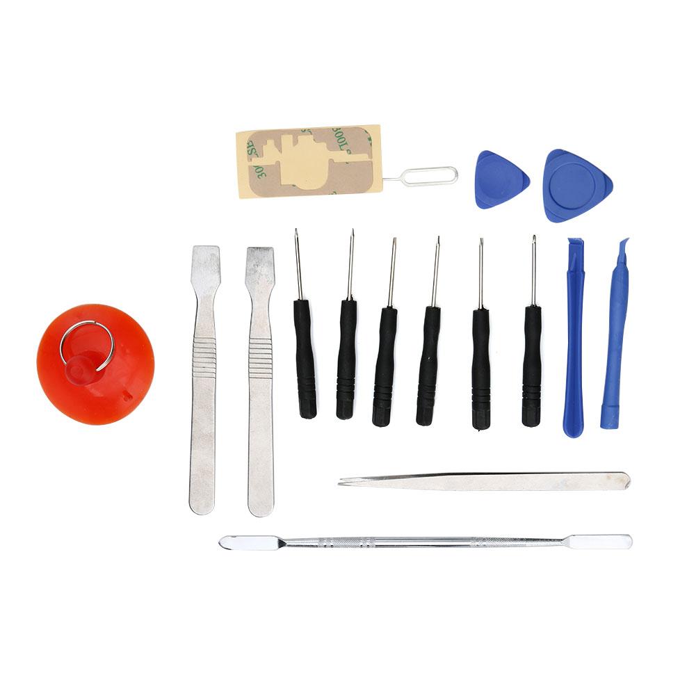 17 1 Mobile Phone Repair Tools Kit Spudger Pry Opening Tool Screwdriver Set iPhone Cell Phone Hand Tools Set