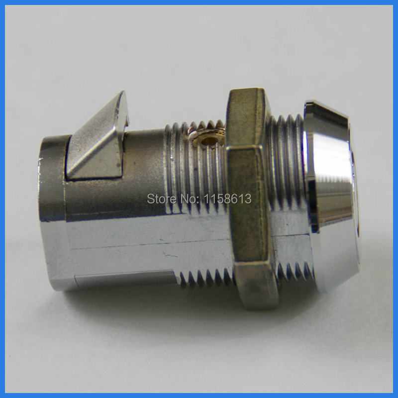 10 pieces 30mm quarter turned keyed alike cylinder spring bolt lock tool cabinet lock(China (Mainland))