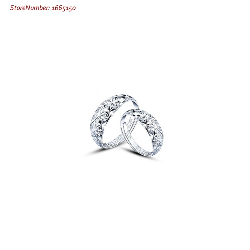 925 Sterling Silver Ring For Men And Women Starry Sky Silver Rings Cheap And Hot Sale(China (Mainland))