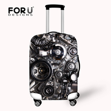 Cool elastic women travel bag protective cover suitcase 18/20/22/24/26/28/30 inch luggage cover waterproof travel accessories(China (Mainland))