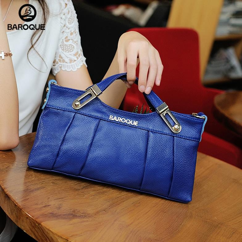 2015 Real Totes Fur Bags Manufacturers Selling Genuine New Handbags Europe Leather Tote Head Layer Cowhide Handbag(China (Mainland))