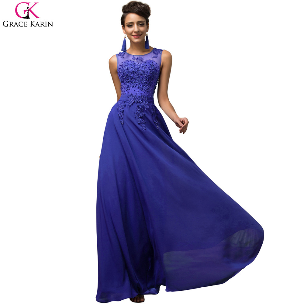 High Quality Royal Blue Party Dress-Buy Cheap Royal Blue Party ...