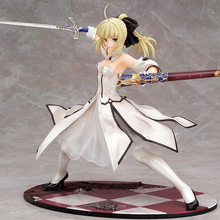 Free shipping Japanese Anime Figures Fate stay night Saber Lily Doll the Sword of Victory Aciton Figure Model Toy 21cm PVC