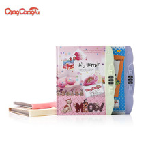 n students password lock the stationery notebook with a password lock lovely notebook diary book wholesale manufacturers