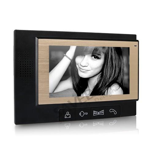 "HOMSECUR 7"" LCD Color Monitor DP-702 for Video Door Phone Intercom Home Security Doorbell 1V1, 1V2, 1V3,1V4, 2v1, 2v2, 2V3, 2V4(China (Mainland))"