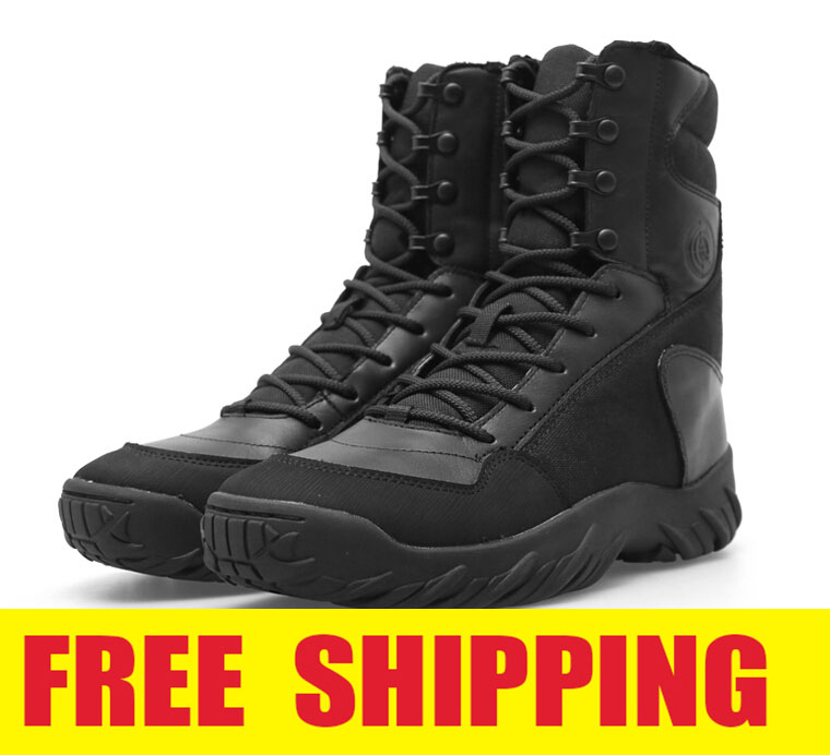Army Combat Boots Men Outdoor Sport High Lightweight SWAT Tactical Leather Hiking Breathable Shoes Puncture Resistant Boot - ZheJiang SunShine Import&Export Co.,Ltd store
