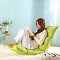 Multicolor Japanese style cute single person lazy small sofa chair folding bed Tatami bedroom moon style
