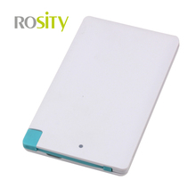 8000mah Powerbank Mini Card Mobile Power Bank External Portable Battery Charger for iPhone 5 5s 6 6+ for iPod iPad Any 5V Device