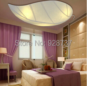 Rural children bedroom absorb dome light leaves artistic characteristics Sheepskin lamp led warmth<br><br>Aliexpress