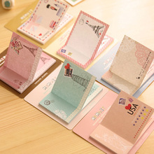 Korean Cute Kawaii Post It Planner Diary Scrapbooking Sticker Sticky Notes And Memo Pads Stationery In Notebook Office Supplies(China (Mainland))
