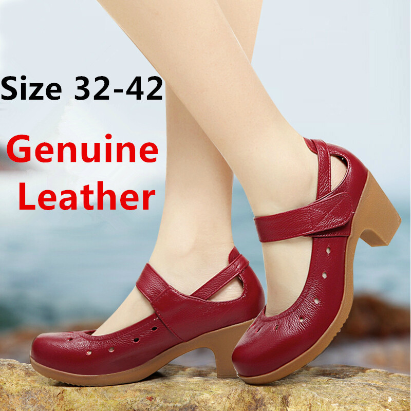 size 32 42 genuine leather cow shoes outsole