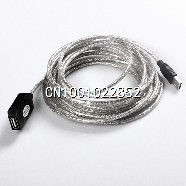 15ft 5M USB 2.0 Active Repeater Extension Cable(China (Mainland))
