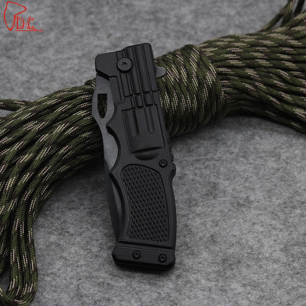 Buy Dcbear KS936A Tactical Folding Blade Knife Camping Tools 440C Blade Outdoor Survival Rescue Multi Tool High Quality cheap