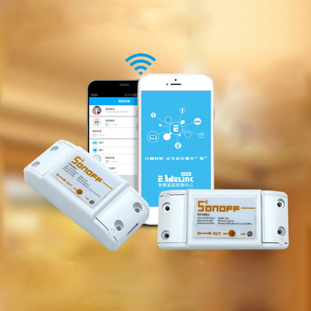 Buy Wall Switch Compatible Sonoff 1ch Wifi Smart For Android Relay Online India 1home Automation Is The Internet Of Things Way That All Our Devices And Appliances Will Be Networked Together To Provide Us With A Seamless