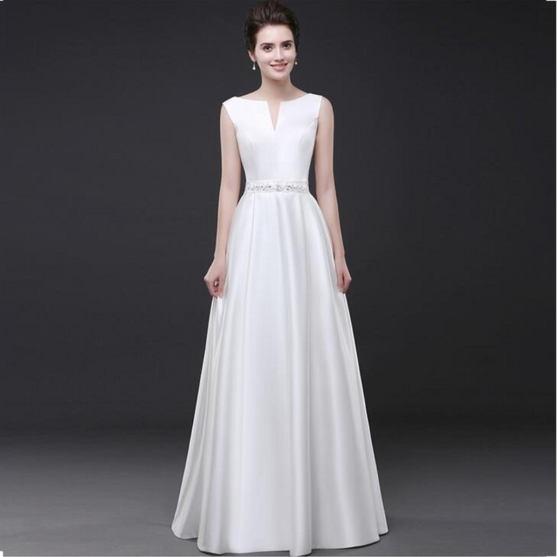 Beautiful Taffeta Evening Dresses V-neck Sashes With Beading Lace Up Sleeveless Long Party Prom Gowns Custom Made(China (Mainland))