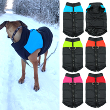 Waterproof Pet Dog Puppy Vest Jacket Chihuahua Clothing Warm Winter Dog Clothes Coat For Small Medium Large Dogs 4 Colors S-5XL(China (Mainland))