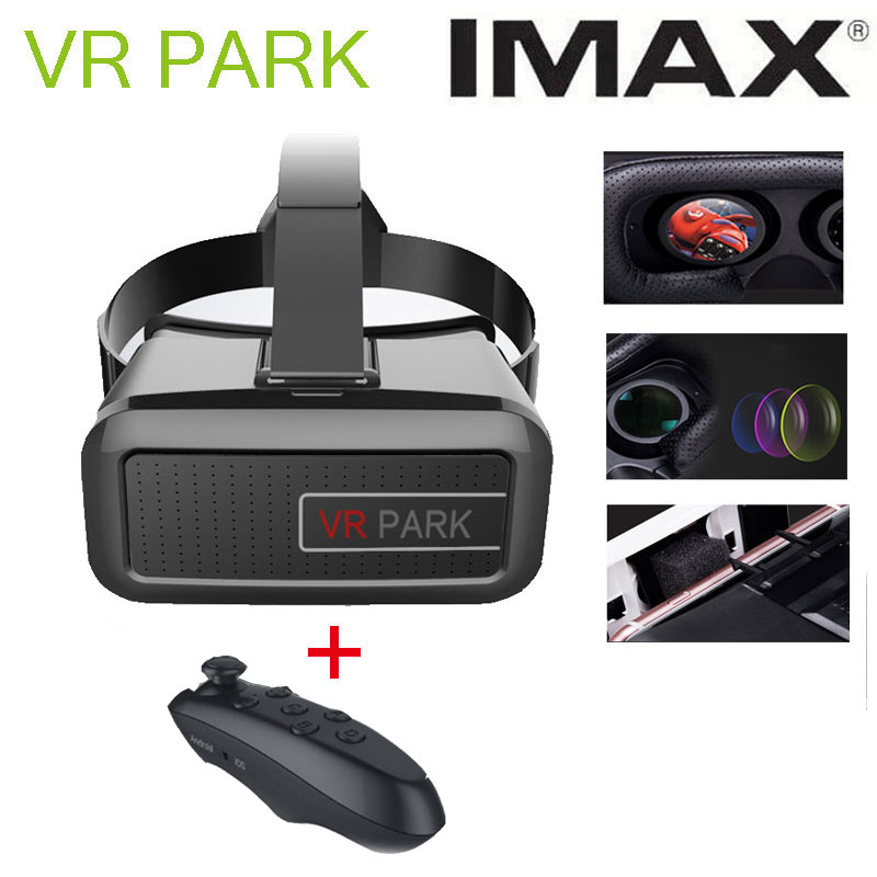 2016 VR BOX 3.0 Plastic Google Cardboard VR SHINECON 3D Virtual Reality Glasses Oculus Rift + smart bluetooth game controller<br><br>Aliexpress