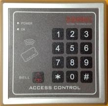 Kostenloser Versand RFID/EM125KHz Proximity Eintrag Türschloss Access Control System 10 stücke Farbe Keyfobs(China (Mainland))