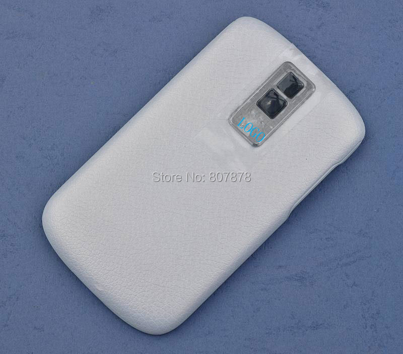 White/Black Original with Logo Battery Door for Blackberry 9000 Housing Back Battery Cover Case Door + Free Shipping(China (Mainland))