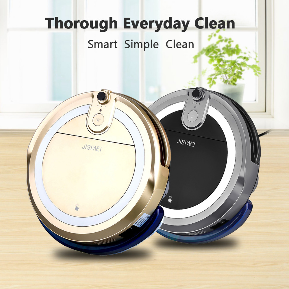 2016 NEW JISIWEI i3 Vacuum Robot Cleaner With APP Remote Control Anti-collision System Built-in HD Camera Four Cleaning Mode(China (Mainland))