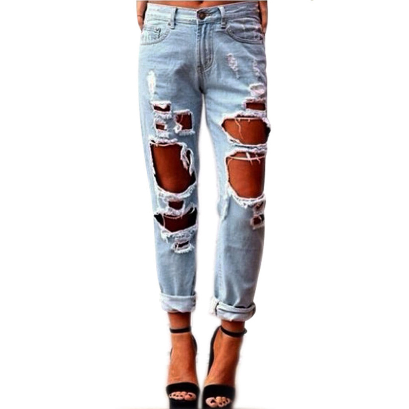 Popular Womens Ripped Jeans Size 18-Buy Cheap Womens Ripped Jeans ...