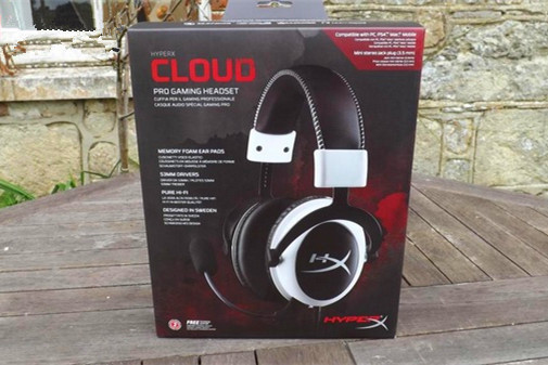 Original Top KingSton HyperxCloud pro gaming headset stereo Noise Cancelling game white Headphone with Micr for MacBook computer(China (Mainland))