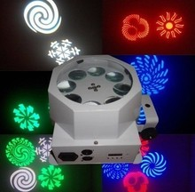 New 8 patterns LED Laser Projector Stage Lighting Moving DJ Disco Party Remote Control Brand New(China (Mainland))