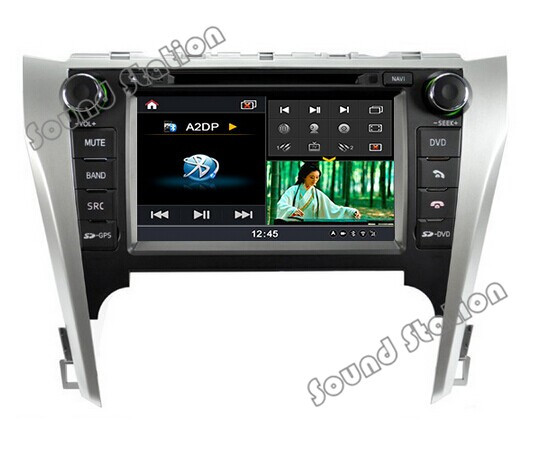 Camry DVD GPS Radio Navigation Multimedia For Toyota Camry Auto Car DVD Radio GPS Navigation Multimedia System Stereo Receiver(China (Mainland))