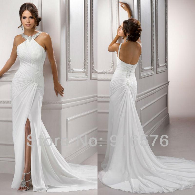 Turmec » halter neck wedding dresses nz
