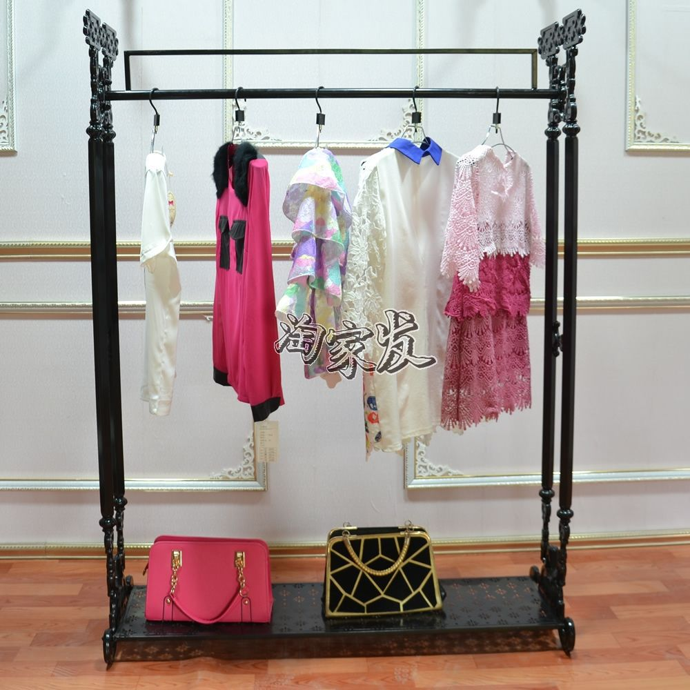 European high-speed Amoy home made clothes rack clothing store display shelf display floor Garment Bag<br><br>Aliexpress