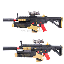 Buy Electric Toy Gun Rifle Assault Scar Paintball Soft Bullet Gun Battlefield Snipe Weapon Hero Boy Adult Toy Birthday Gifts for $35.64 in AliExpress store
