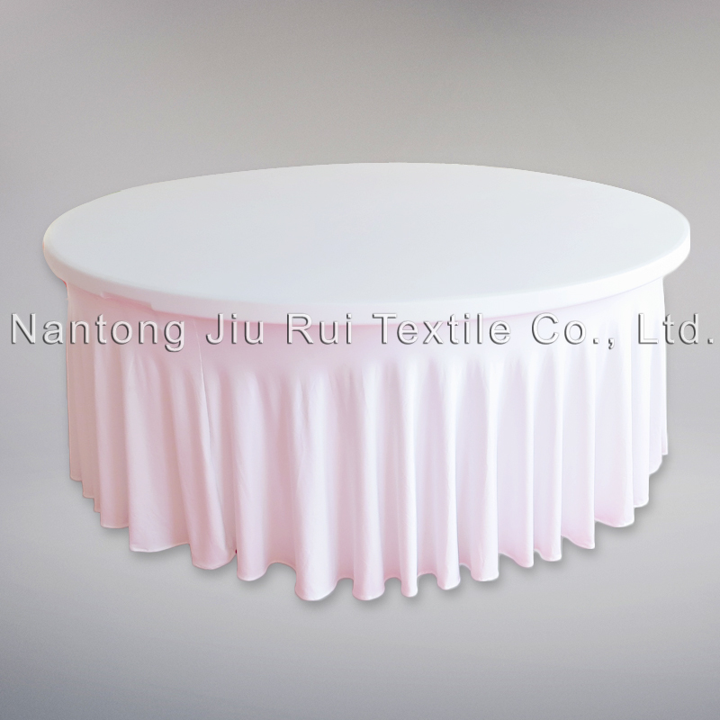 2PCS White Color 6FT Dia Elastic Band Bottom Swag Style  : 2PCS White Color 6FT Dia Elastic Band Bottom Swag Style Spandex Table Cloth For Wedding Banquet from www.aliexpress.com size 800 x 800 jpeg 243kB