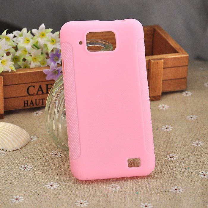 Soft TPU Gel Phone Case Gionee GN868 Cell Pink color - Localvogue store