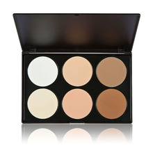 Beauty women maquiagem corretivo face Makeup sets Pressed Powder Palette Nude Makeup Contour Palette Cosmetic High