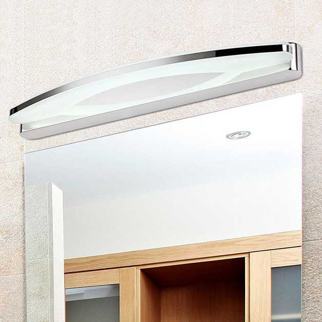 8w led wall light,wall sconce lighting,mirror bathroom lights,Cool white/ warm white,stainless steel modern light - China Goodia Lighting Technology Co., LTD store