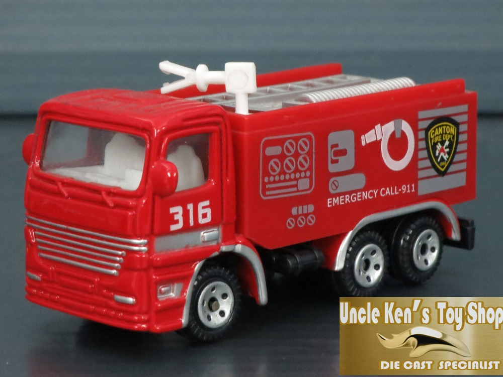 5cm 1/64 scale diecast metal car model, metal miniature toy fire truck with free wheel function for kids/children as gift(China (Mainland))