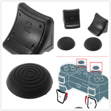 Best Selling Best Price Top Selling 4 in 1 New Dual Triggers + Silicone Thumbstick Grip Cap Cover For Sony For PS3 Controller