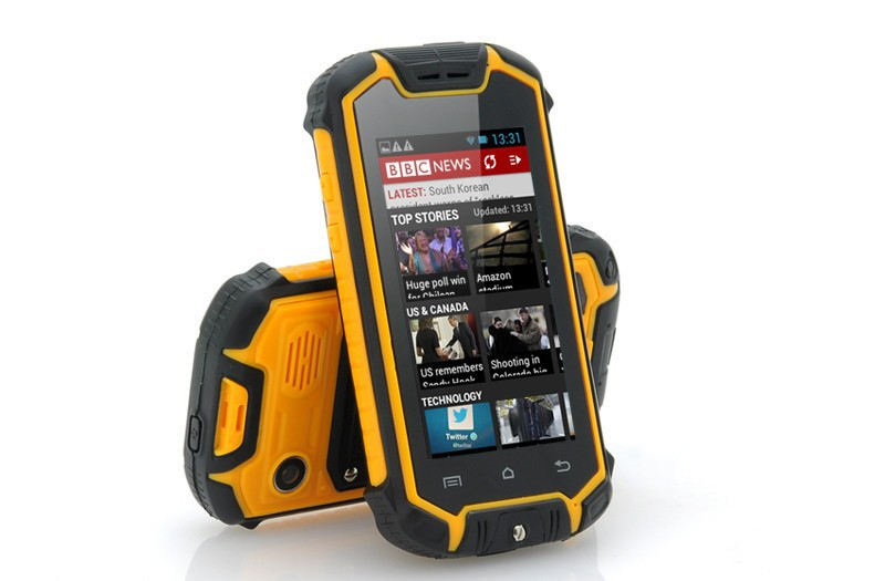 Mini Discovery Z18 Waterproof Rugged Cell Phone Mtk6572