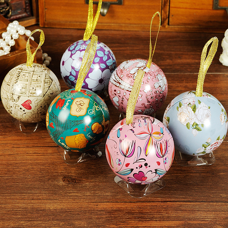 European retro Hand-painted Creative Candy boxes Wedding marriage Party Favors Christmas Decoration 6 style(China (Mainland))